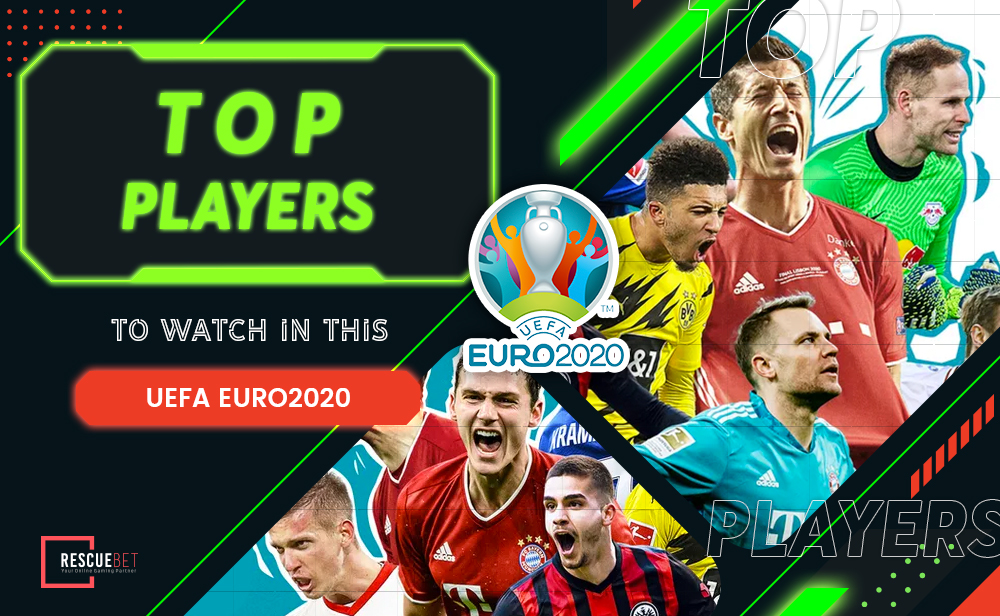 Top Players To Watch In This UEFA EURO2020 Blog Featured Image