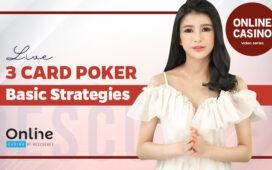 Live Three Card Poker Basic Strategies Blog Featured Image