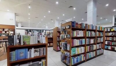 Virtual Tours on YouTube and Vimeo – Book Store 3D Model