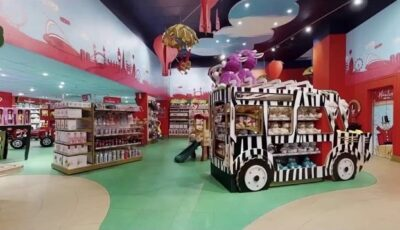 Virtual Tours on YouTube and Vimeo – Toy Store 3D Model