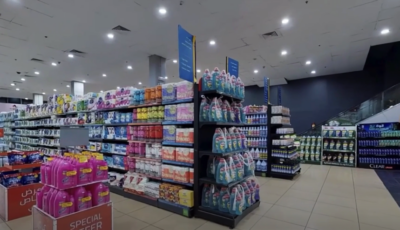 Virtual Tours on YouTube and Vimeo – Grocery Store 3D Model