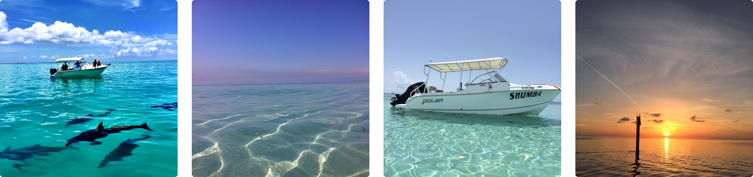 Boating in Key West