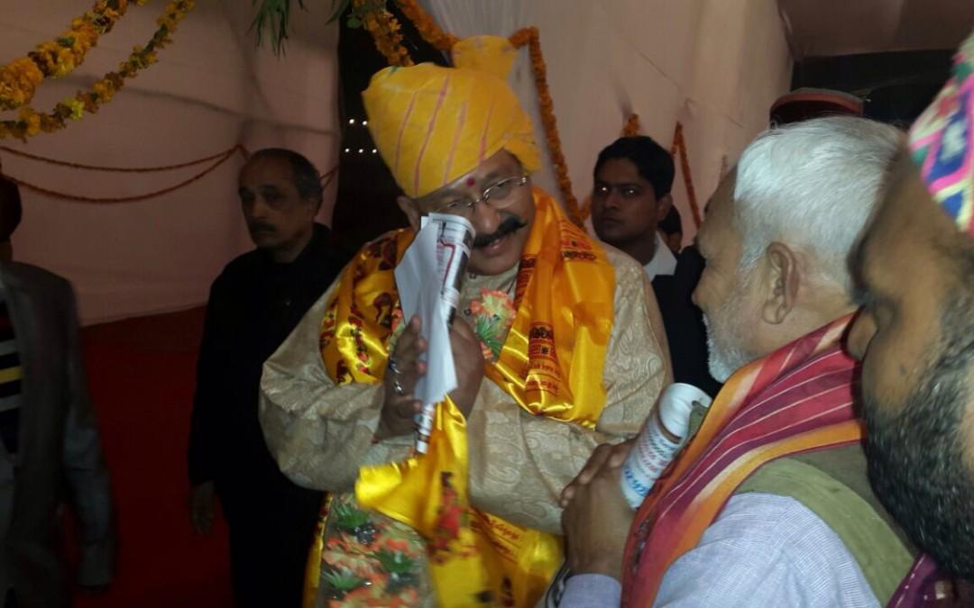 Meeting with Satpal Maharaj