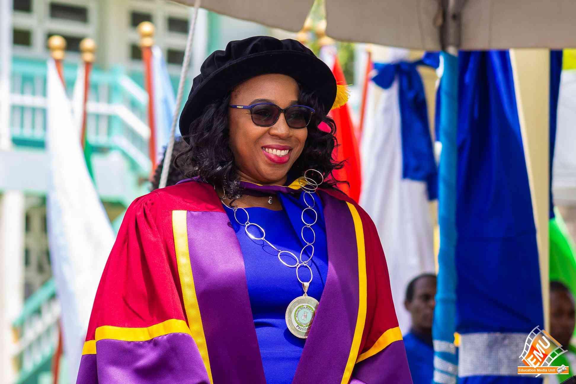 Dr. Jacqueline Austin, President, PhD, MSc, BA