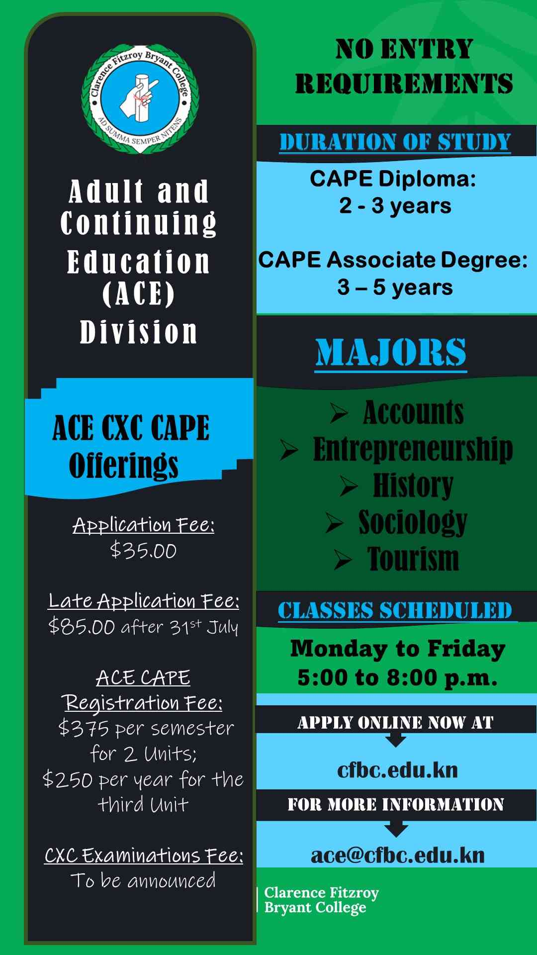 Adult & Continuing Education Division