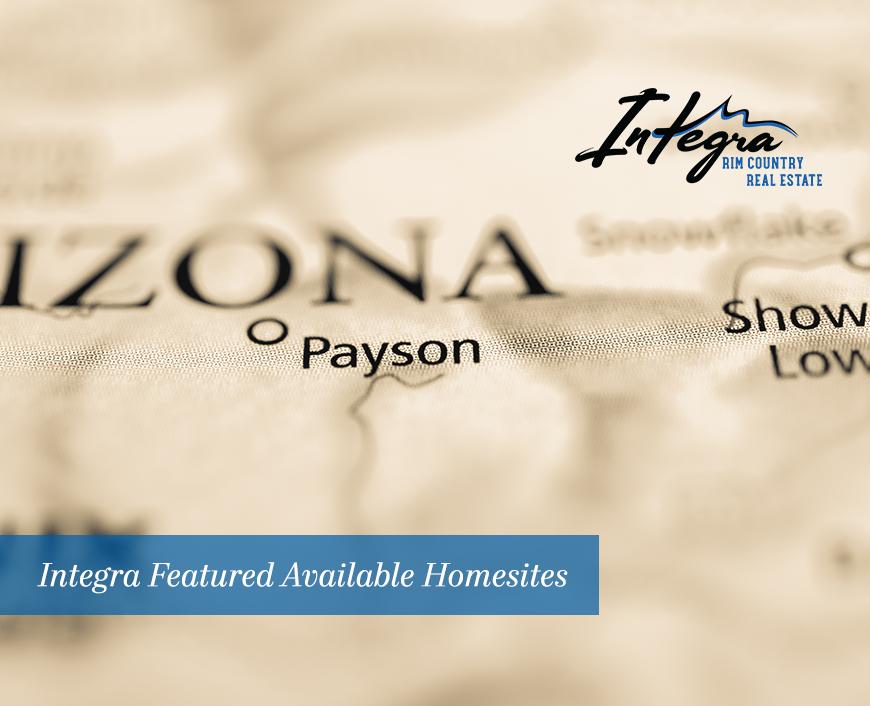 Featured Listings Homesites