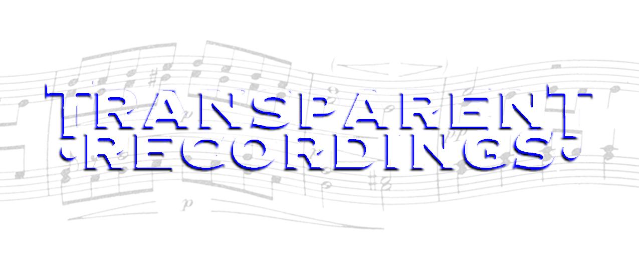 Transparent Recordings, San Francisco