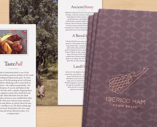 Iberico from Spain brochure