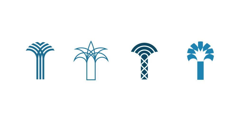 Palm Equity logo development