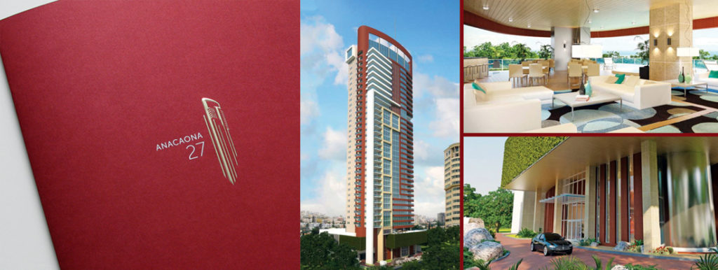 Anacaona 27, luxury tower marketing brochures