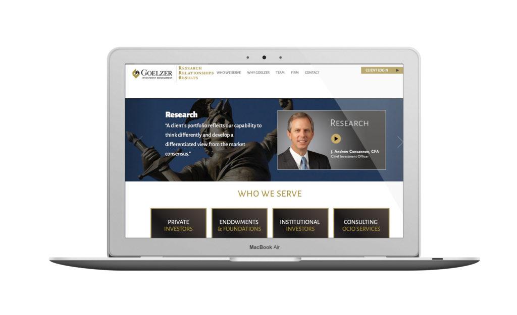 Goelzer website design
