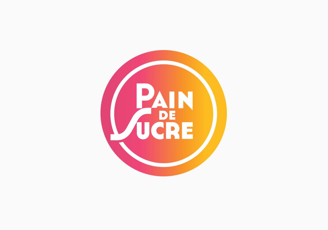 Pain de Sucre social media logo design