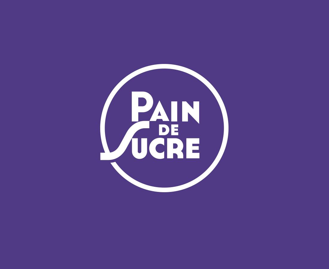 Pain de Sucre brand logo design