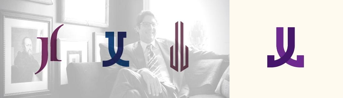 Jeff Lincoln logo design concept exploration