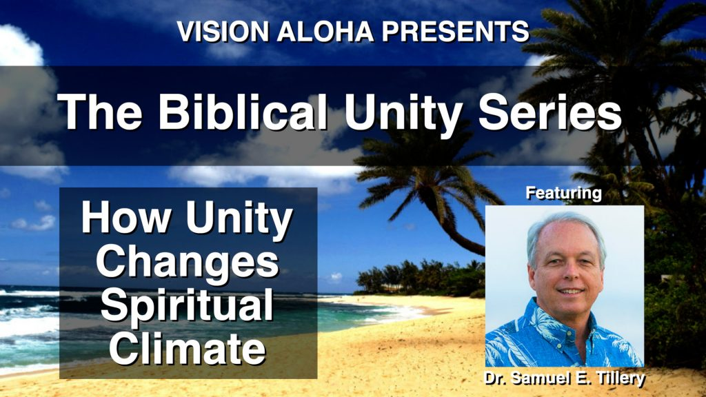 How Unity Changes Spiritual Climate