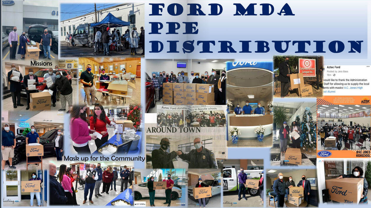 Ford MDA PPE Distribution