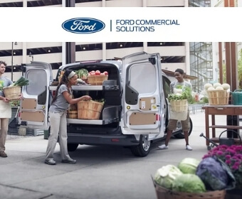 Customizable Ford Commercial Vehicles
