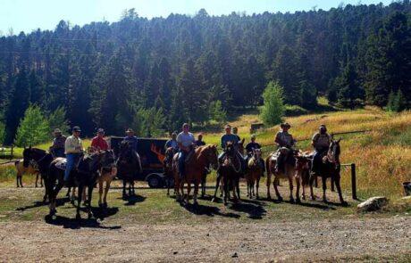 photo-of-group-on-horses-jared-burke-foundation