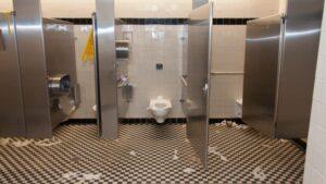 restroom urine odors