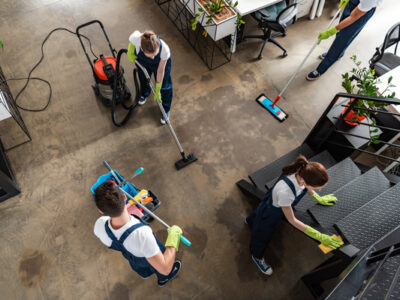 What Types of Businesses Hire Cleaning Services?