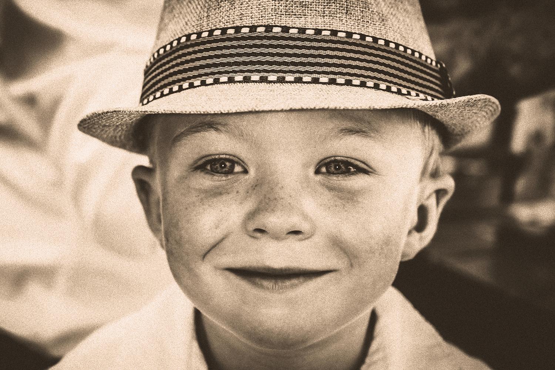 kid, smiling