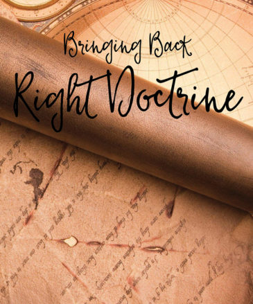 bringing back right doctrine, cd series, dr hattabaugh author