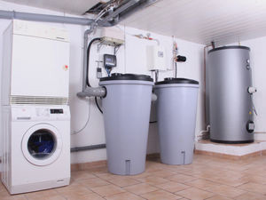 Residential Water System Aqualoop in Basement