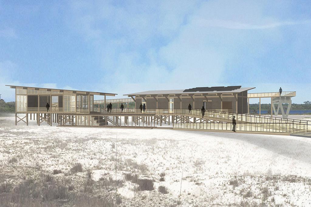 Gulf State Park Center Ecovie Water Management
