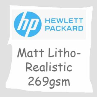 HP Matte Litho-realistic Paper 269 gsm