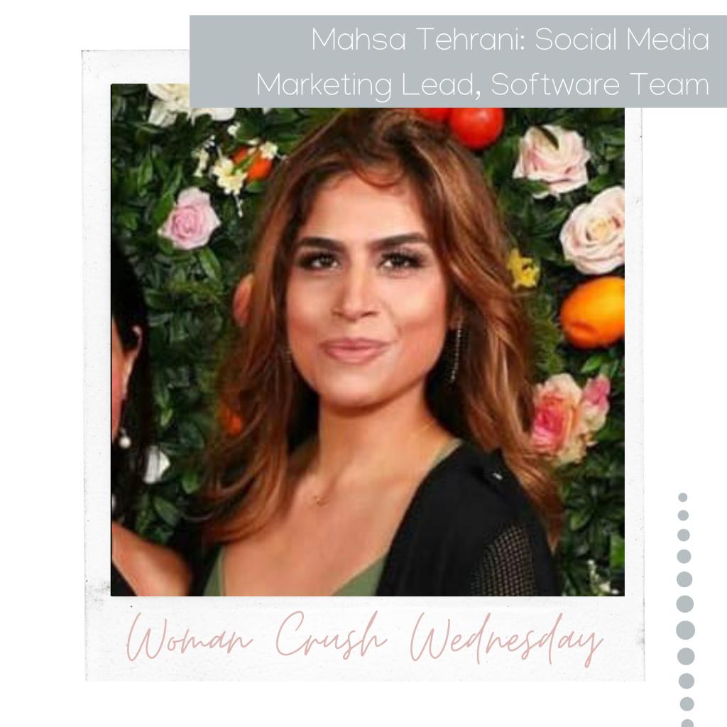 Woman Crush Wednesday: Mahsa Tehrani