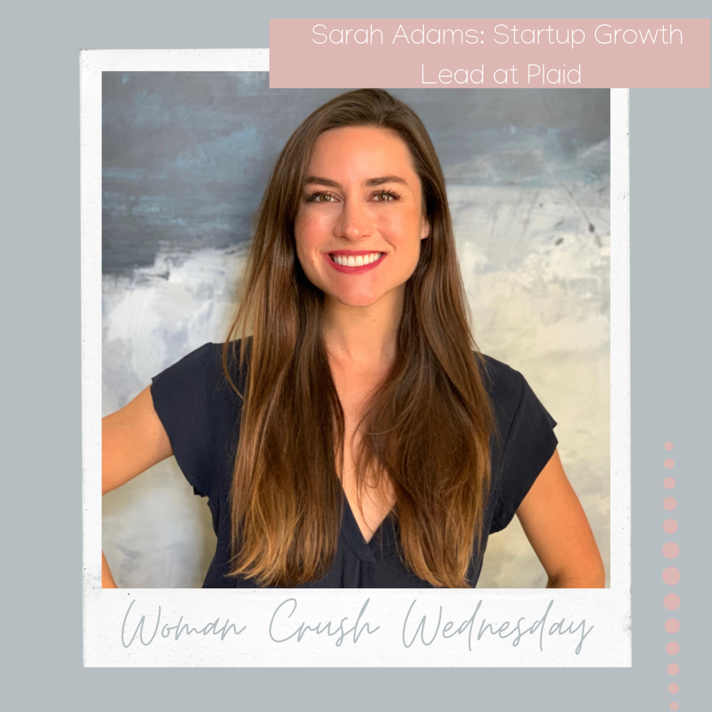 Woman Crush Wednesday: Sarah Adams,