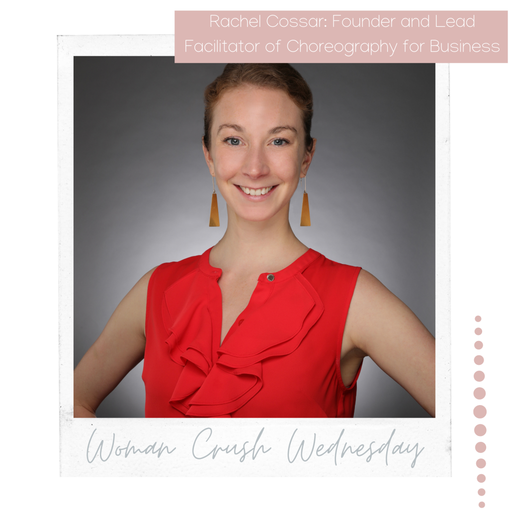 Woman Crush Wednesday: Rachel Cossar