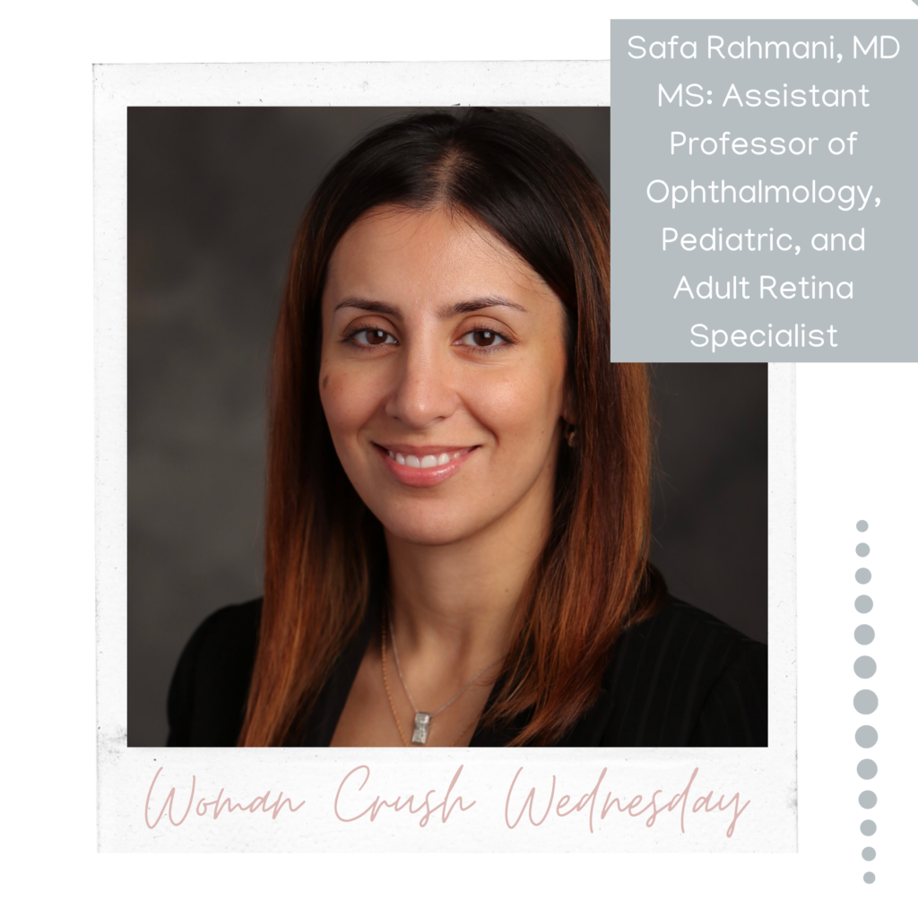 Woman Crush Wednesday: Safa Rahmani, MD MS