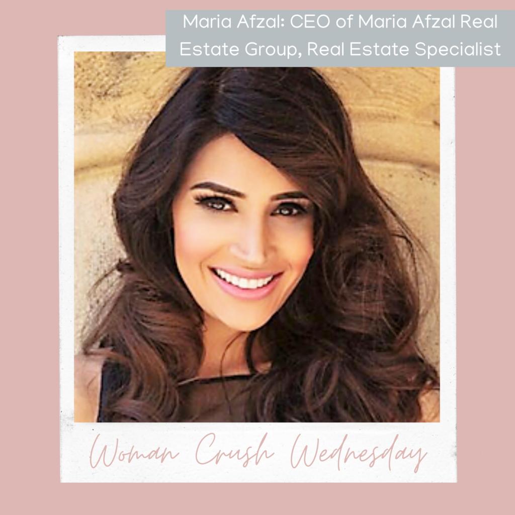 Woman Crush Wednesday: Maria Afzal