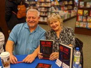 Rob and Sheree at Book Signing 2-8-2020