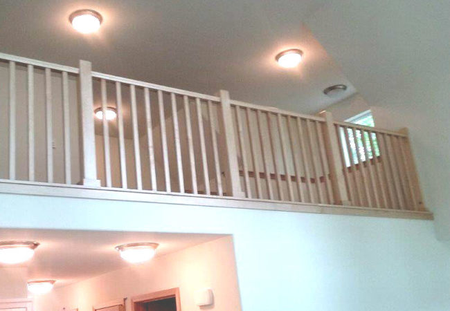 Interior Custom Cape Cod Railing