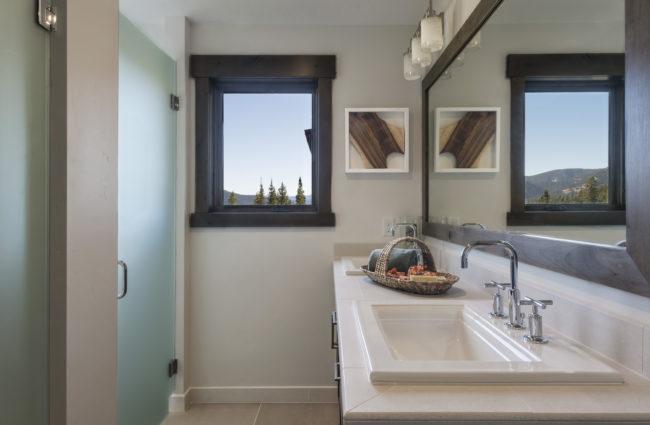 Upstairs Bathroom - Double Vanity Sinks