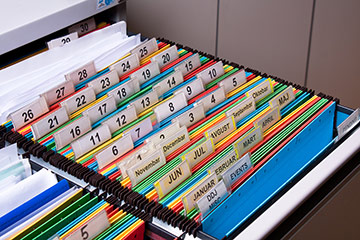 Record-chronology-indexing-bookmarking