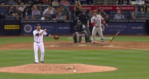 Phillies Use Long Ball, Literally, to beat the Padres