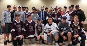 Hockey High School Players in Parkland Meet Gostisbehere