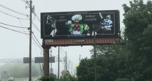 Eagles Fans Purchase Billboard in New England