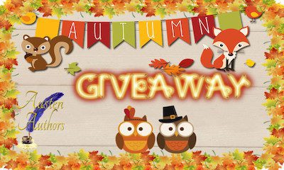 Announcing the Winners of the Austen Authors' Autumn Quarterly Giveaway