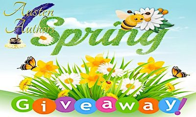 Announcing the Prizes for the Austen Authors Spring Quarter Giveaway
