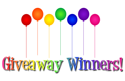 """Announcing the Winners of Zoe Burton's """"A New Book"""" Giveaway"""