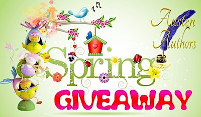 Announcing the Prizes for Austen Authors' Spring Quarterly Giveaway