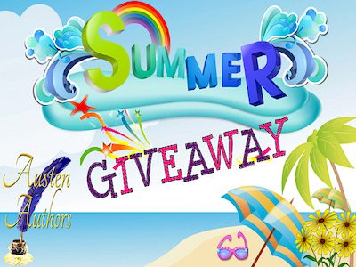 Announcing the Prizes for the Austen Authors' Summer Quarter Giveaway