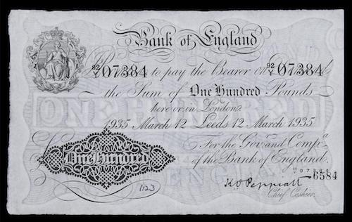 Banking and Bank Notes in Georgian England
