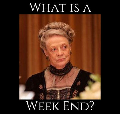 What is a Week End?