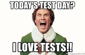 will ferrell elf test meme