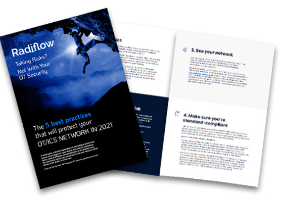 """Download Security Brief: """"The 5 best practices that will protect your OT/ICS network 2021"""""""